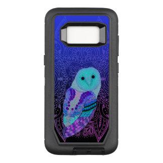Swirly Barn Owl OtterBox Defender Samsung Galaxy S8 Case