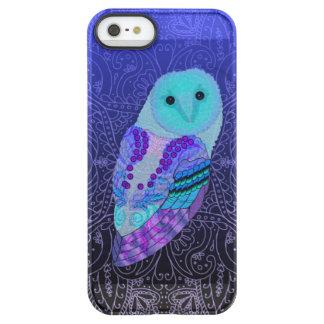 Swirly Barn Owl Permafrost® iPhone SE/5/5s Case