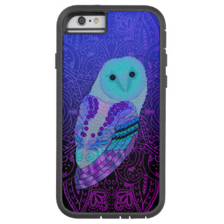 Swirly Barn Owl Tough Xtreme iPhone 6 Case