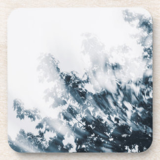 Swirly Branches (Blue) Coaster