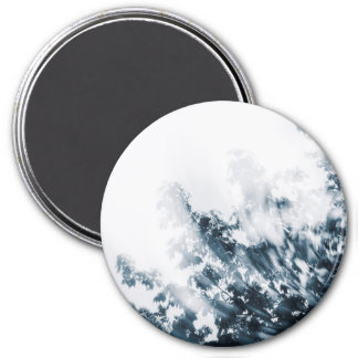 Swirly Branches (Blue) Magnet