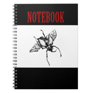 SWIRLY BUG NOTEBOOK