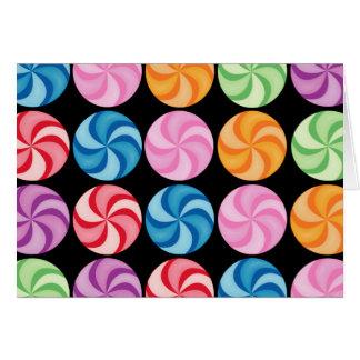 Swirly Candies Card