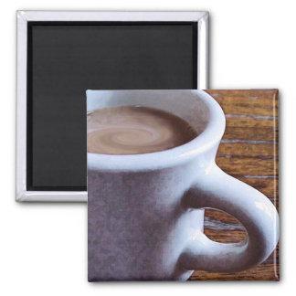 SWIRLY COFFEE FRIDGE MAGNET