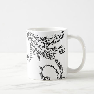swirly coffee mug