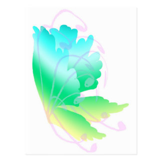 Swirly Fly Postcard