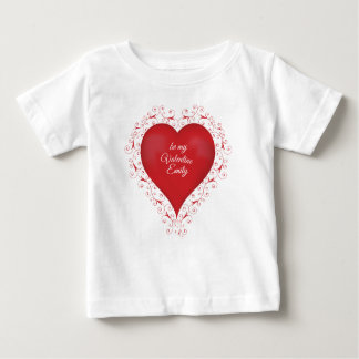 Swirly Heart Toddler T Shirt