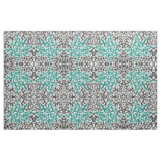 Swirly leaf fabric