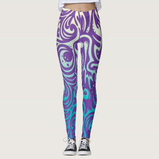 Swirly Leggings
