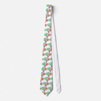 SWIRLY LOLLIPOPS SUCKERS CANDY RED YELLOW GREEN BL TIE