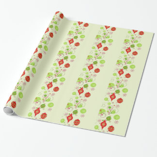 """Swirly Ornaments Wrapping Paper, 30"""" x 6' Wrapping Paper"""