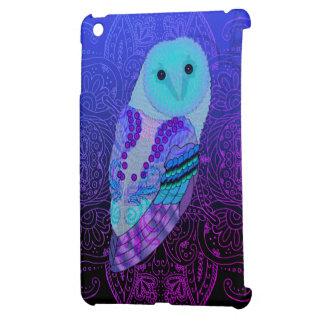 Swirly Owl iPad Mini Cover