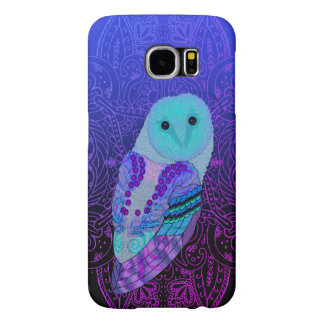Swirly Owl Samsung Galaxy S6 Cases