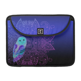 Swirly Owl Sleeve For MacBook Pro