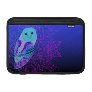 Swirly Owl Sleeves For MacBook Air