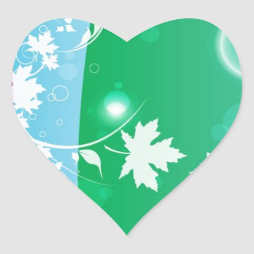 SWIRLY PURPLE BLUE GREEN YELLOW WHITE FLOWERS BACK STICKERS