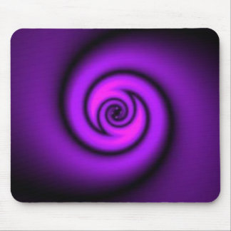 swirly purple mouse pad