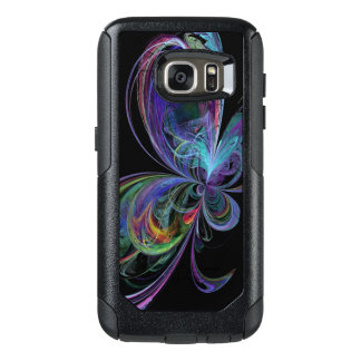 Swirly Rainbow Abstract Butterfly OtterBox Samsung Galaxy S7 Case
