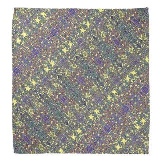 Swirly Star Pattern Bandana