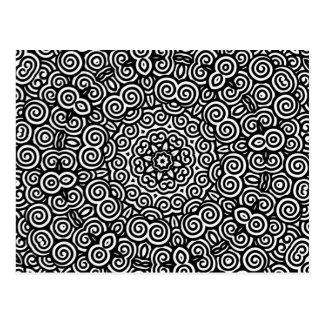 Swirly Sue Post Card