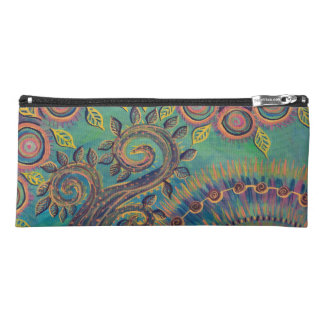 swirly tree pencil case