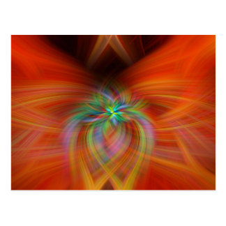 Swirly Twirls Postcard