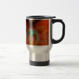 Swirly Twirls Travel Mug