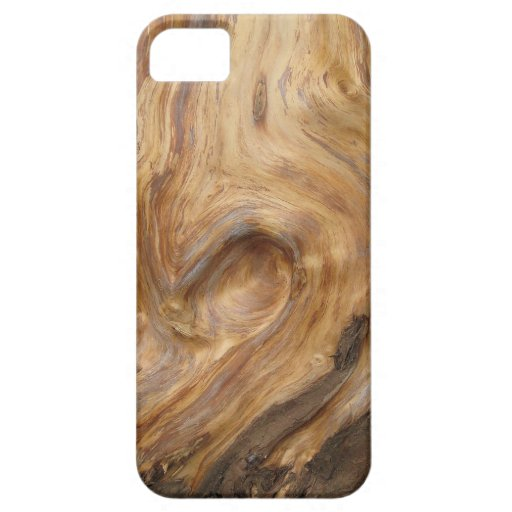 Swirly Wood Grain iPhone 5 Case