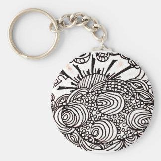 swirlysun keychain