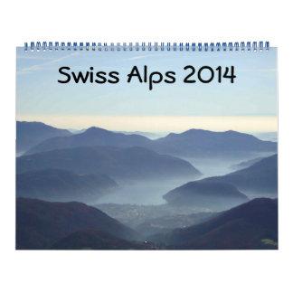 Swiss Alps 2014 Calendar
