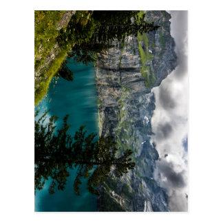 Swiss Alps - Oeschinensee - Switzerland Postcard