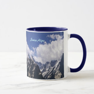 Swiss-Alps ringer mug