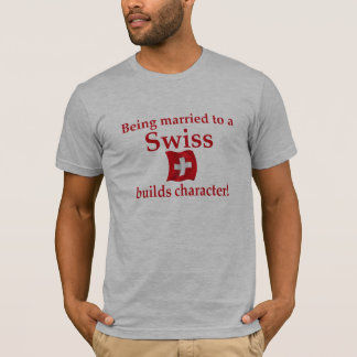 Swiss Builds Char T-Shirt