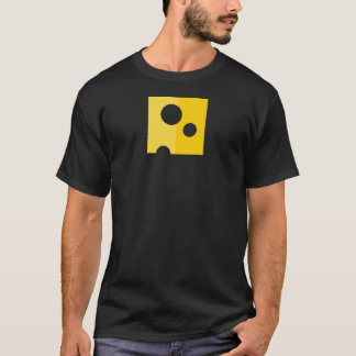 Swiss Cheese Funny Men's T-Shirt