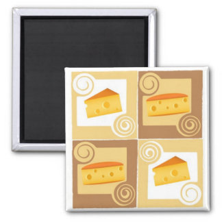 Swiss Cheese Magnet
