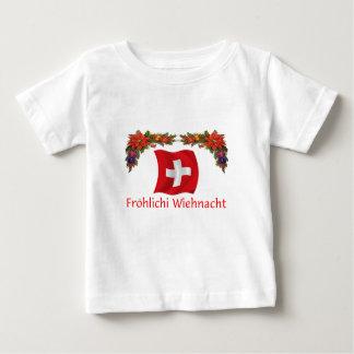 Swiss Christmas Baby T-Shirt