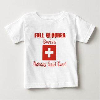 Swiss citizen  design baby T-Shirt