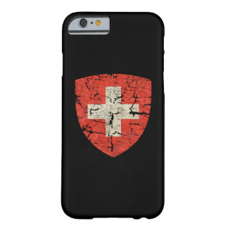 Swiss Coat of Arms Distressed Barely There iPhone 6 Case