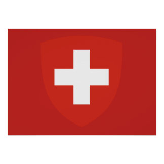 Swiss Coat of arms Poster