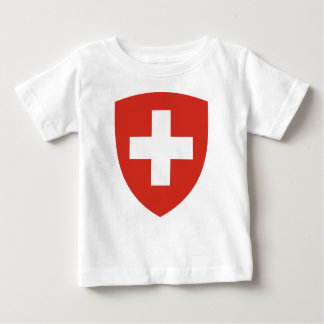Swiss Coat of Arms Shield Baby T-Shirt