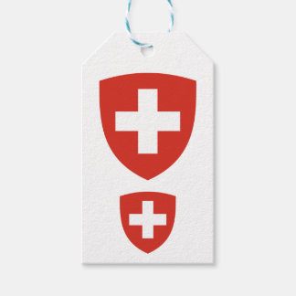 Swiss Coat of Arms Shield Gift Tags