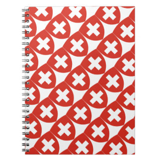 Swiss Coat of Arms Shield Notebook