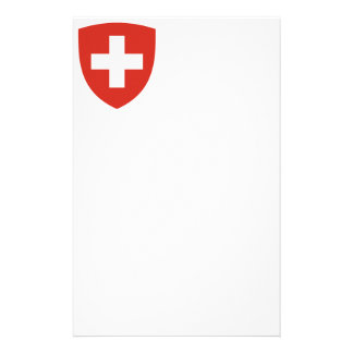 Swiss Coat of Arms Shield Stationery