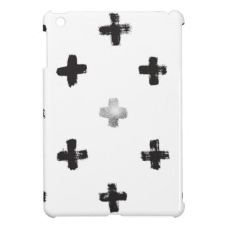 Swiss Cross Pattern iPad Mini Cases