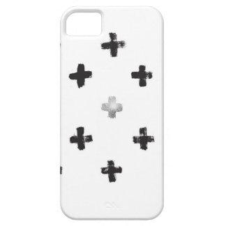 Swiss Cross Pattern iPhone 5 Case