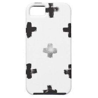 Swiss Cross Pattern iPhone 5 Cover
