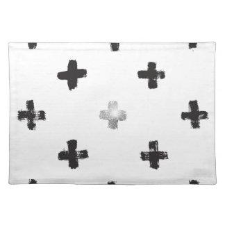 Swiss Cross Pattern Placemat