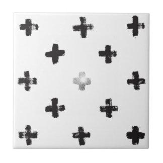 Swiss Cross Pattern Tile