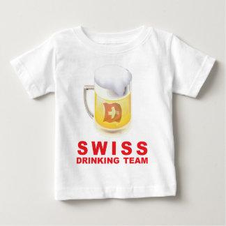 Swiss Drinking Team Baby T-Shirt