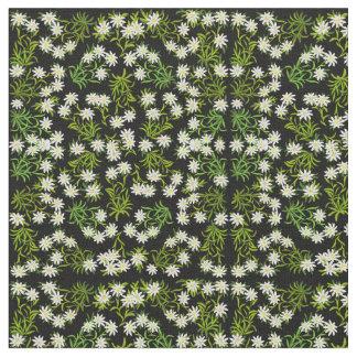 Swiss Edelweiss Alpine Flowers Fabric